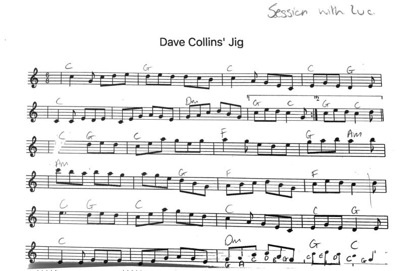 Dave Collins jig